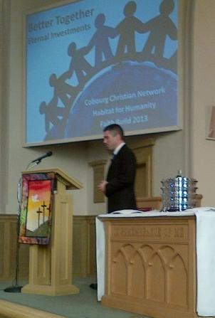 Pastor Andre at Calvary